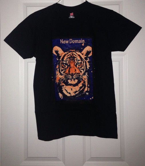 fashion vibe t-shirt tiger shirt vibrant tiger