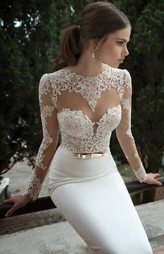 dress classy beautiful wedding dress see through tight dresses long dresses maxis hair accessory