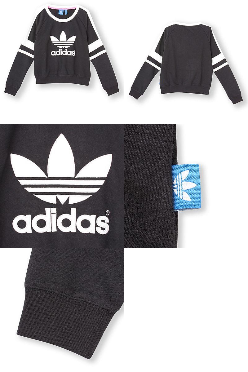 Rakuten global market: adidas adidas originals sweatshirts [logo crew sweat] women m69756