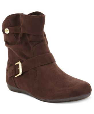 DV by Dolce Vita Booties, Jentry Open Back Booties - Shoes - Macy's