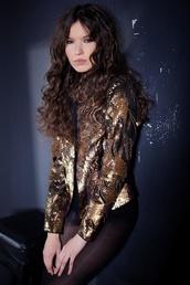 jacket,sequin jacket,silvia terziu,sequins,evening outfits,gorgeous