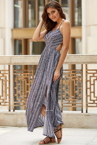 dress zaful boho summer