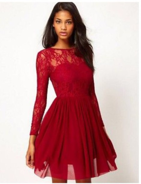 Red Short Formal Dresses