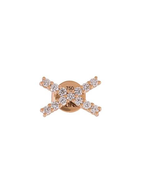 Alinka women earrings stud earrings gold grey metallic jewels