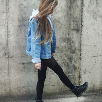 jacket tumblr vintage-inspired denim jacket denim jacket tumblr girl shoes