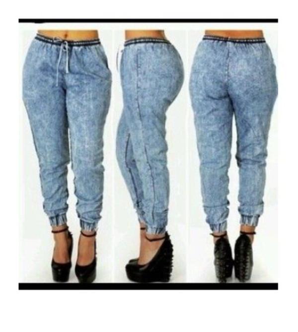 pants jean joggers