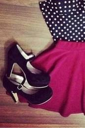 shoes,black,heels,retro,vintage,stapped heals,buckles,black high heels,high heels