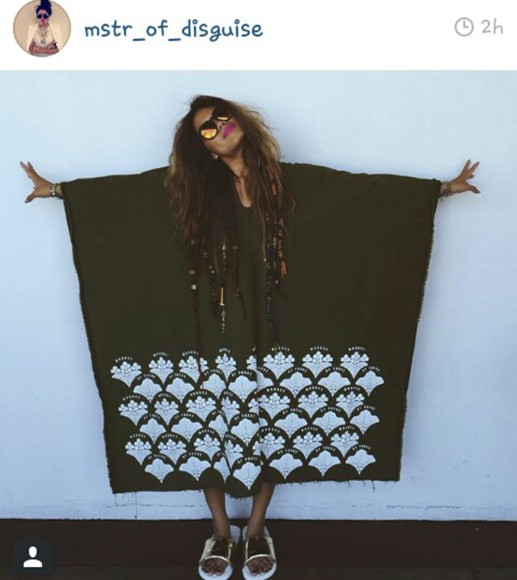 hippie boho poncho great