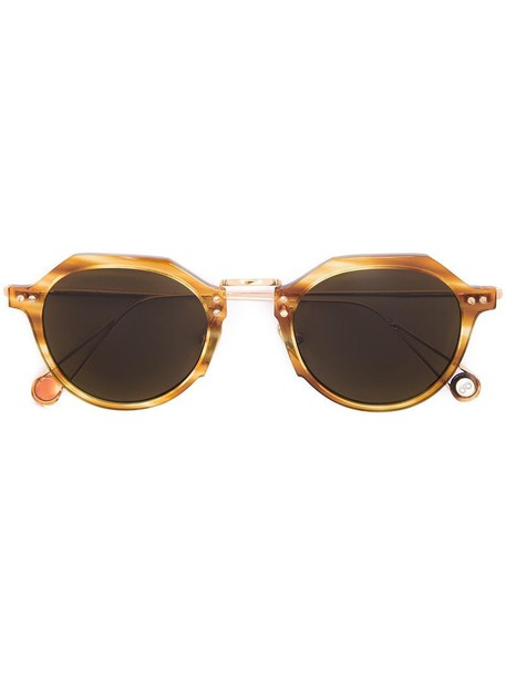 Ahlem 'Garest Lazare' sunglasses, Women's, Yellow/Orange, Acetate