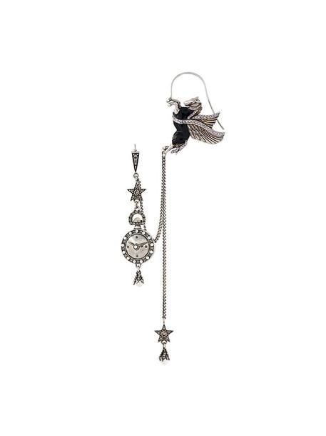 Alexander Mcqueen cuff metallic women pearl ear cuff jewels