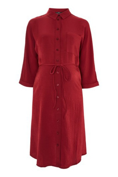 Topshop dress shirt dress