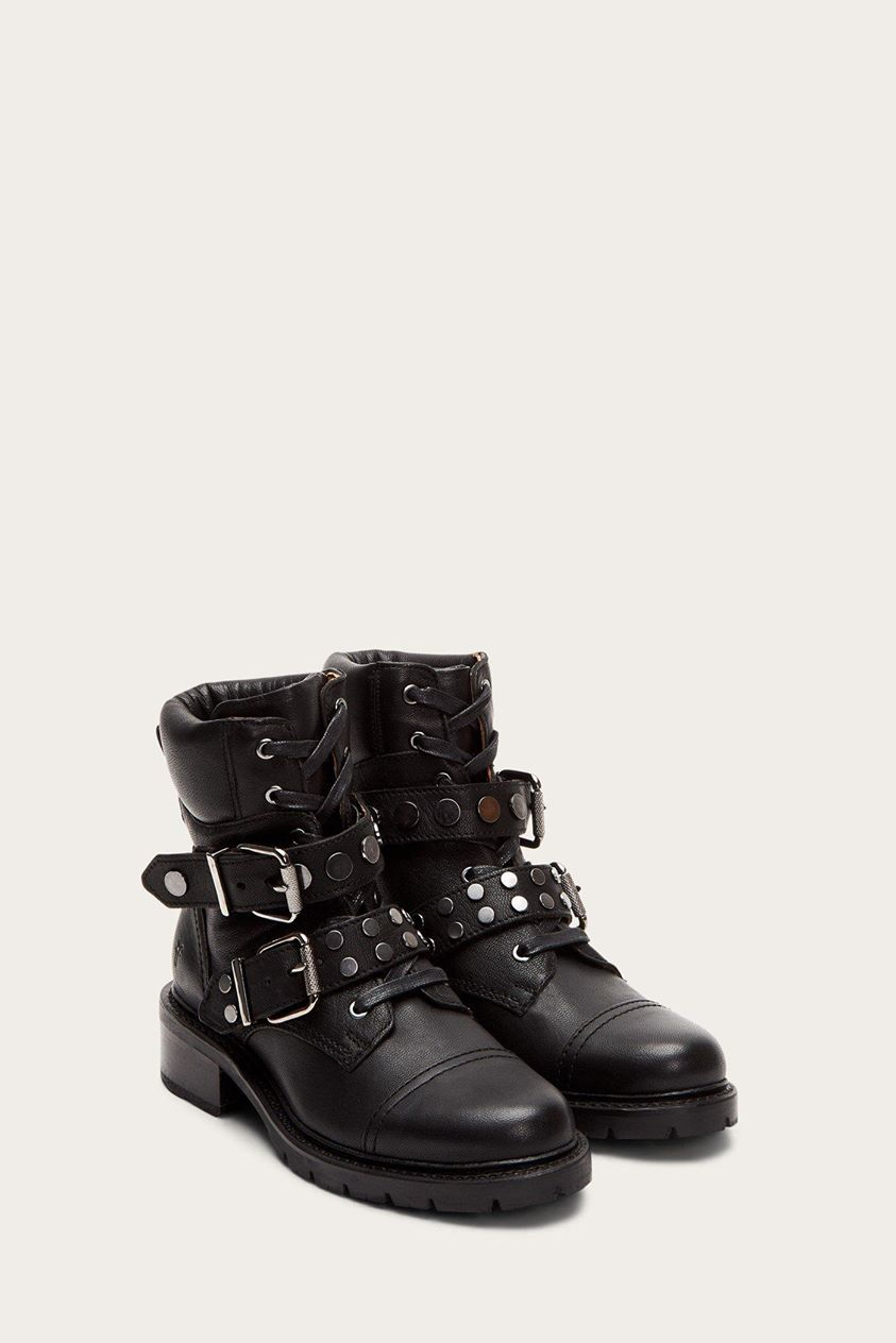 Samantha Stud Hiker Boots