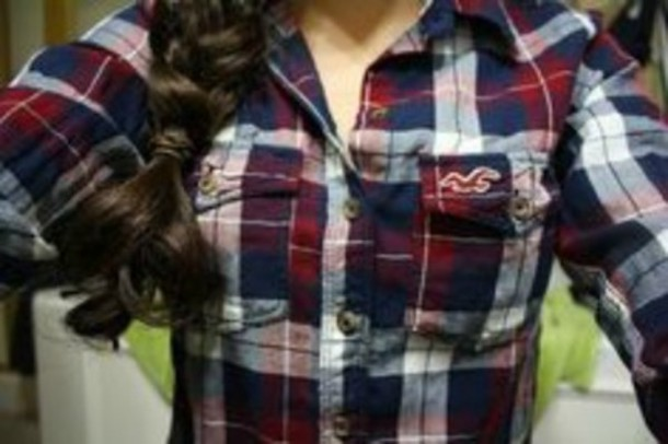 shirt plaid red white blue red white and blue american eagle ae aeo aeoutfitters american eagle outfitters