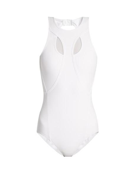 Charli Cohen white swimwear