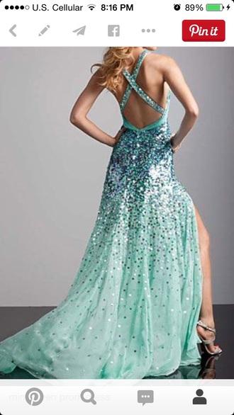 dress prom dress blue dress blue prom dress sequin prom dresses