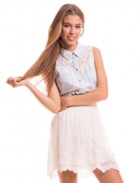 Falda lentejuelas Embrace de Vila Clothes