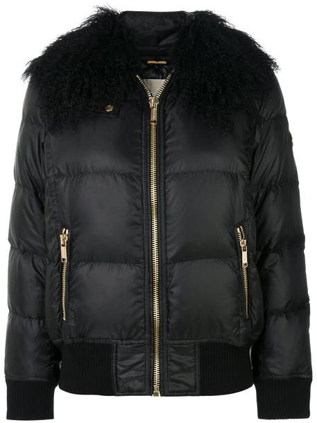 jacket fur collar jacket fur women black