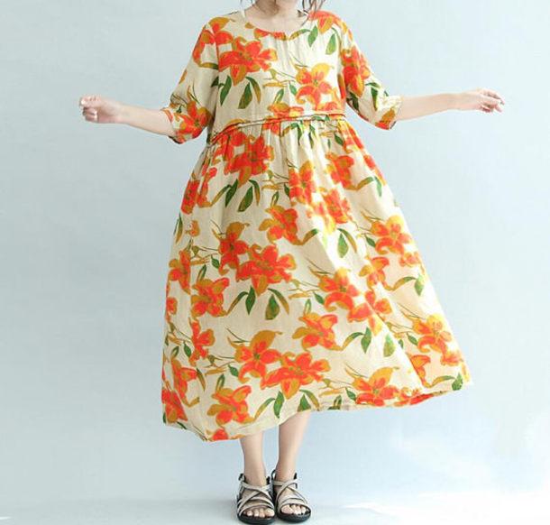 dress long skirt