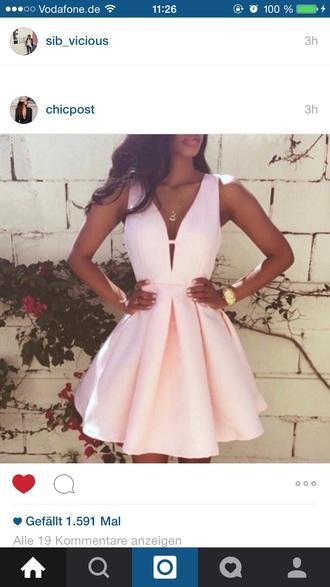 dress cute dress nude dress pink dress light pink dress short pink dress