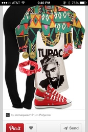 jacket,cardigan,rainbow,tupac,90s style,90's shirt,90s jacket,hip hop,hip hop shirt,multicolor,geometric,shirt