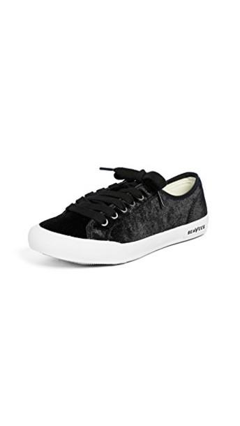 SeaVees sneakers velvet black shoes