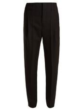 high,wool,black,pants