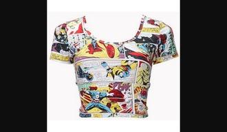 shirt comic shirt