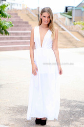 dress,ootd,ootn,maxi,white dress,white maxi,formal dress,evening dress,wedding dress,xeniaboutique,women's clothing and accessories