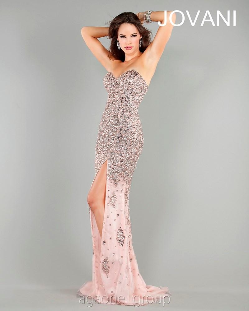 Jovani evening dress 4247 lowest price guarantee 0 2 4 6 8 10 12 14 pink
