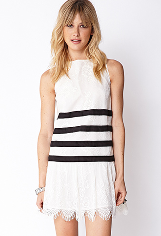 Heirloom Drop Waist Dress | FOREVER21 - 2000072210