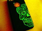 phone cover,iphone cover,sugar skull,sugar skull case,skull,skull case,iphone case,iphone,iphone5c,iphone 5c,5c,5c case,iphone5/5s/5c/4/4s,etsy,etsy sale,etsy.com,sale