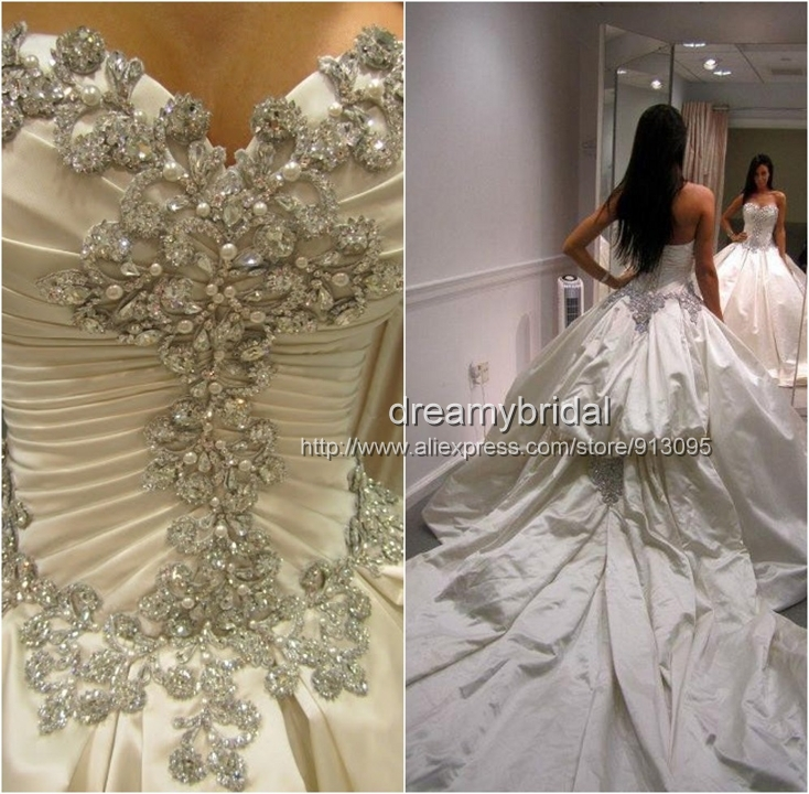 Aliexpress.com : Buy 2014 the best dress! Sexy high quality Luxury vestidos de noiva wedding dresses Ball gowns dreamybridal made high quality dress from Reliable dresses chanel suppliers on Suzhou dreamybridal Co.,LTD
