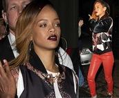 jacket,rihanna,bomber jacket,celeb,fashion,style,jewels