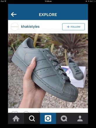 shoes adidas adidas superstars adidas shoes grey tumblr sexy
