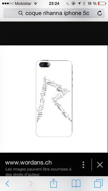 phone cover iphone 5c case rihanna