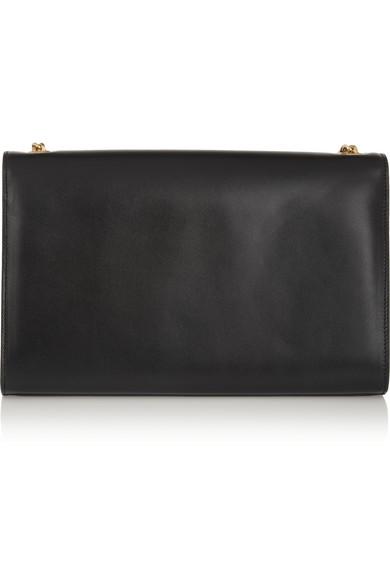 Saint Laurent|Monogramme leather shoulder bag|NET-A-PORTER.COM