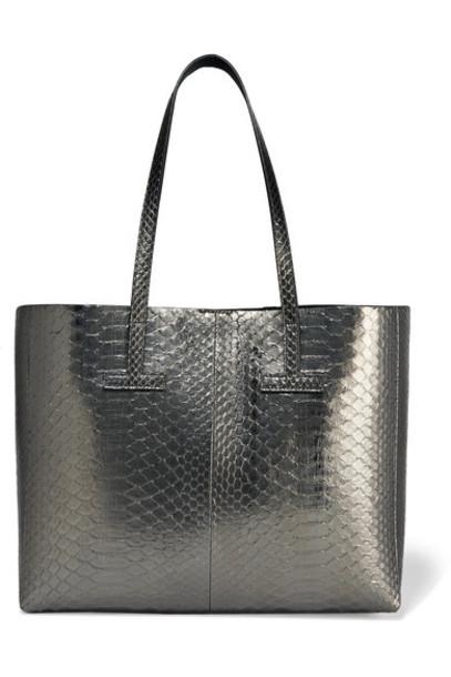 Tom Ford metallic python bag