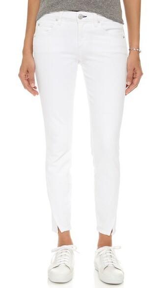 jeans sea slit