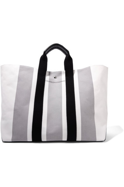 leather white bag