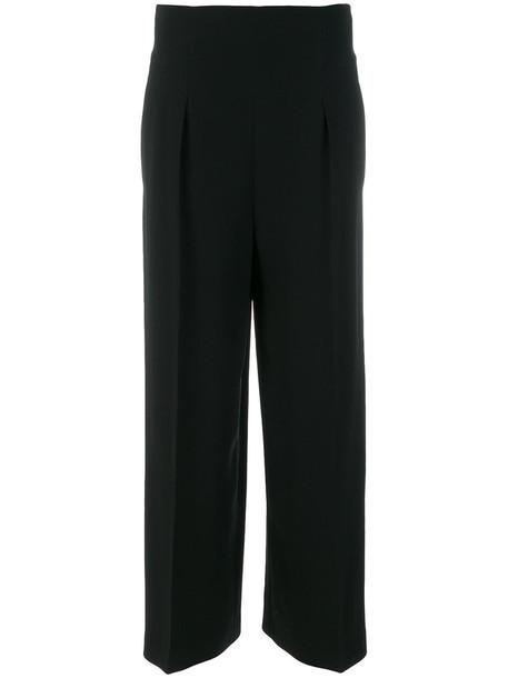 Alberta Ferretti high women black pants