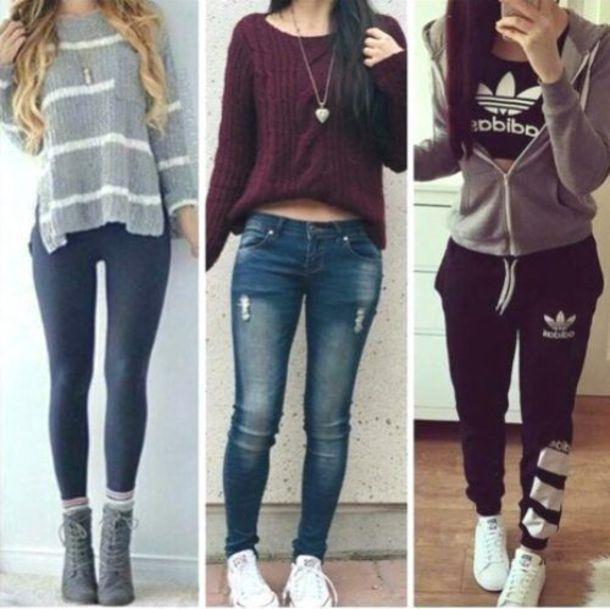 leggings sweater