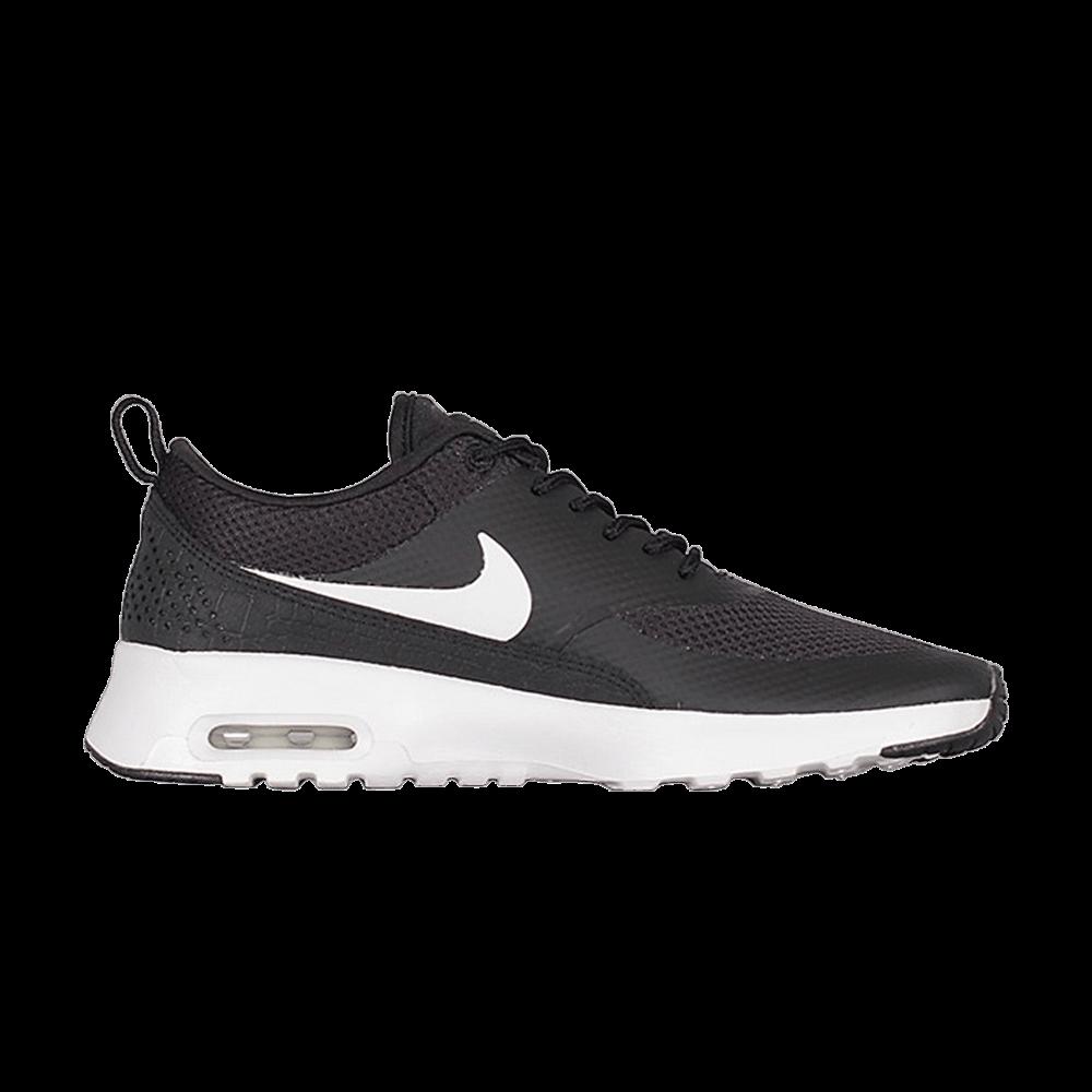 Wmns Air Max Thea 'Black Summit White' - Nike - 599409 020 | GOAT