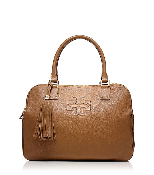 Thea Triple Zip Compartment Satchel  | Womens Thea | ToryBurch.com