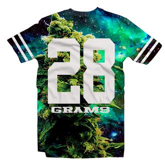 t-shirt weed weed shirt pot leaf galaxy galaxy print