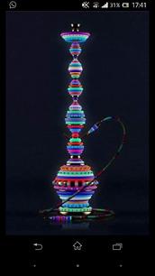jewels,home accessory,hookah,smoke,colorful