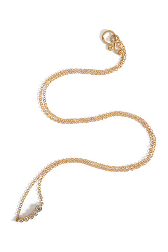 diamonds necklace gold yellow jewels