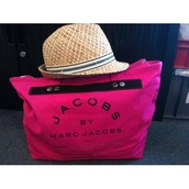 bag,marc by marc jacobs,pink