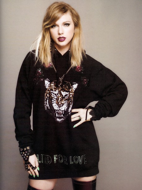 sweater sweatshirt hoodie taylor swift editorial