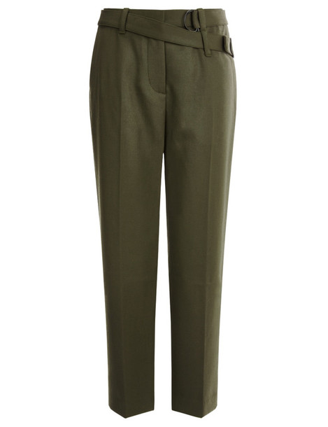 3.1 Phillip Lim cropped wool green
