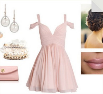 dress prom dress pastel dress pastel short dress prom party dress homecoming dress pink pink dress nail accessories pants